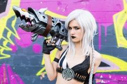 hot chick gun